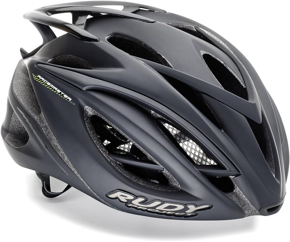 Negro 2019 Rudy Project Racemaster Casco de Bicicleta
