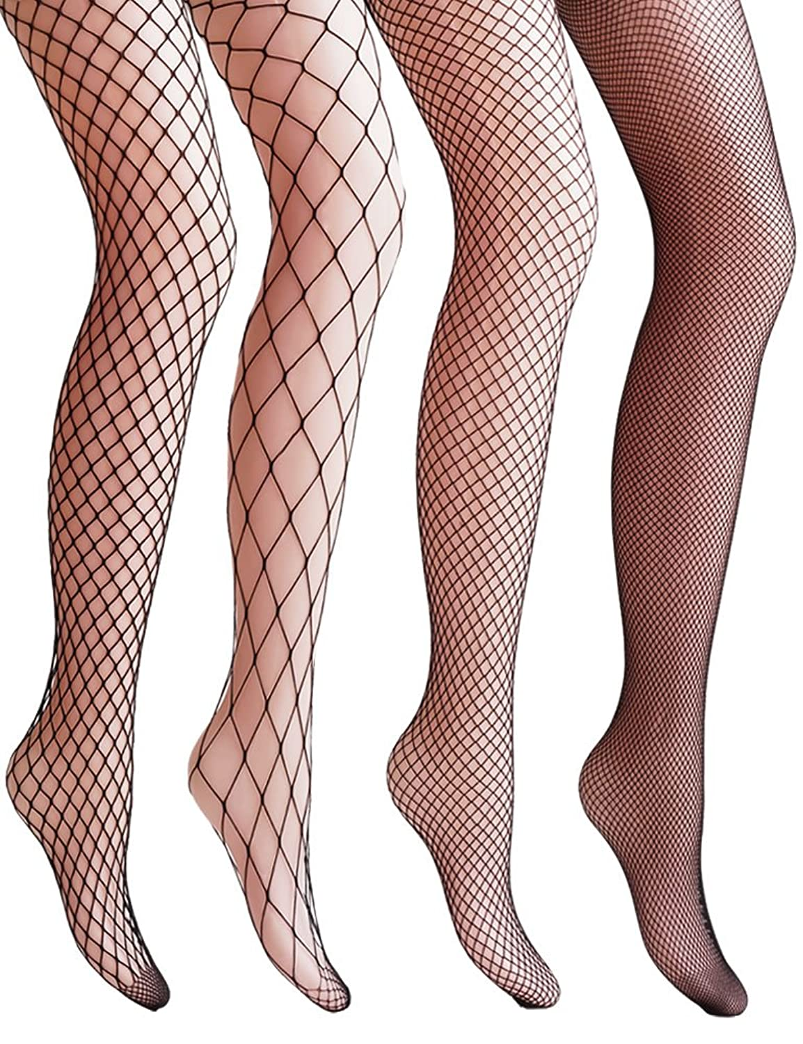 1920s Style Stockings & Socks Hollow Out Fishnet Pantyhose Tights $17.99 AT vintagedancer.com
