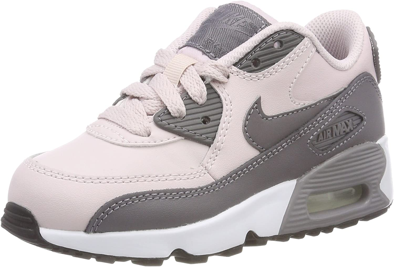 Nike Air Max 90 LTR (PS), Scarpe da Ginnastica Bambina, Rosa
