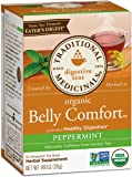 Traditional Medicinals Organic Belly Comfort Peppermint Tea, 16 Count