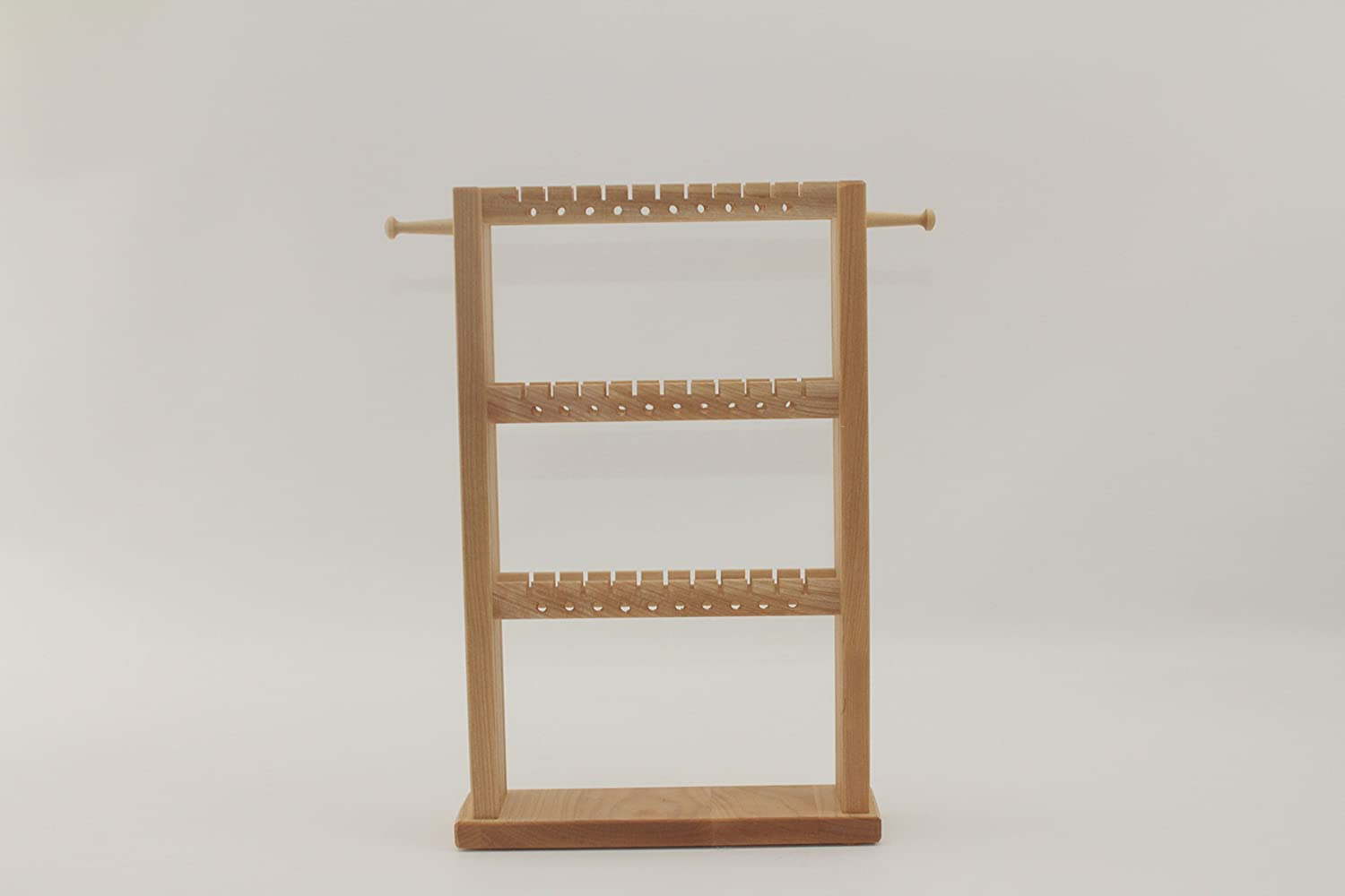 Hardwood Standing Earring and Jewelry Rack