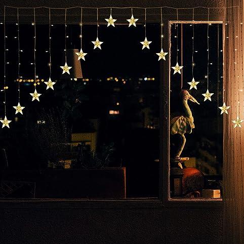 Weihnachtsbeleuchtung fenster innen stern my blog - Weihnachtsbeleuchtung fenster kabellos ...