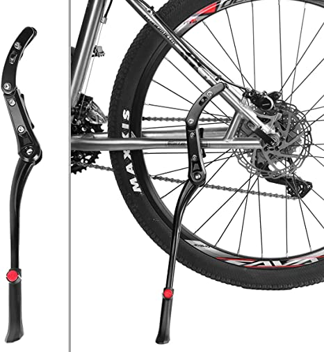 MidGard Soporte de pie de Bicicleta Soporte de Aluminio Ajustable ...