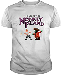 The Fan Tee Camiseta de Hombre Retro Monkey Island