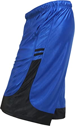 OLLIE ARNES Mens Mesh Active Running Basketball Training Shorts in Sets S-5XL