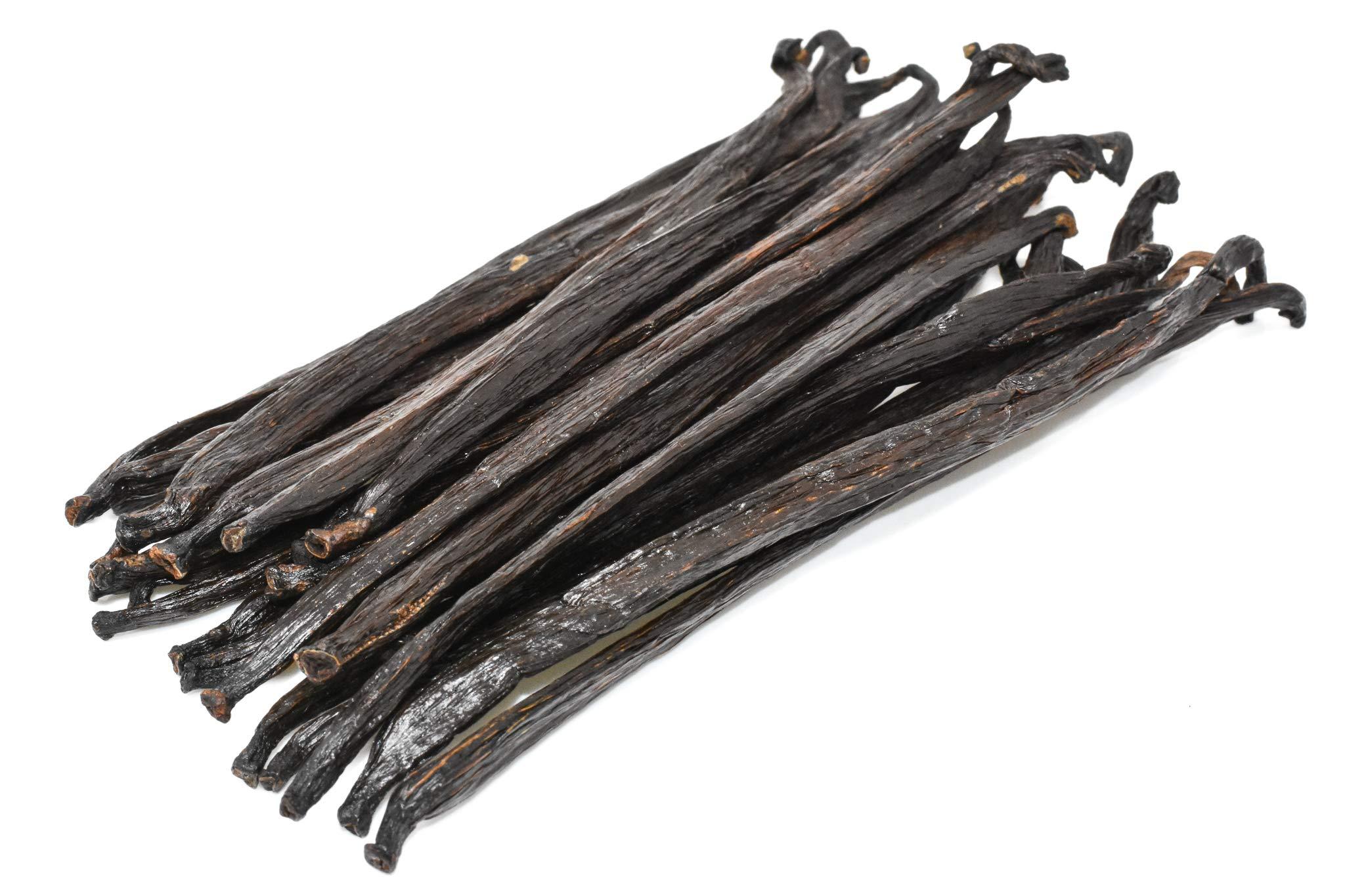 Extract Grade Vanilla Beans by Slofoodgroup 12-14 cm (various sizes available) Grade B Vanilla beans (4 oz/.25 extract Vanilla Beans)