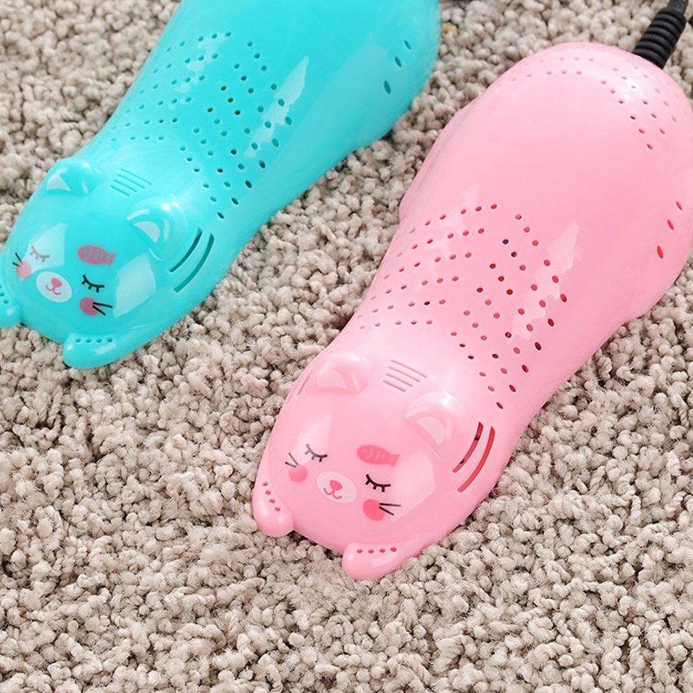 entfernt Feuchtigkeit f/ür Schuhe Anti-Geruch Luftentfeuchter mit Sterilisator Fu/ßballschuhe Naisidier Trockenschuhe