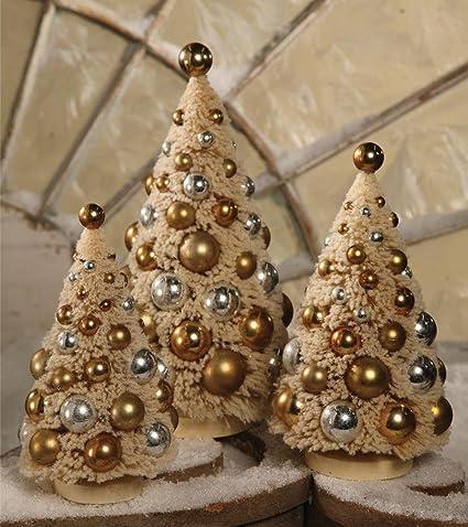 Bethany Lowe Christmas Ornaments.Amazon Com Bethany Lowe Christmas Romantic Bottle Brush
