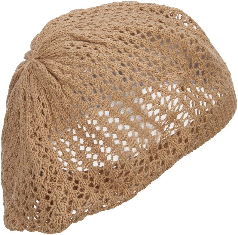 Classic Solid Knit Beret
