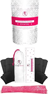 Postpartum Essentials Duo - Perineal Ice Packs and Sitz Bath Soak for Soothing Postpartum Care After Childbirth Labor and Delivery Shower Gift.