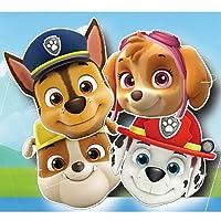 Patrulla Canina Lot de 6masques motif Pat' Patrouille