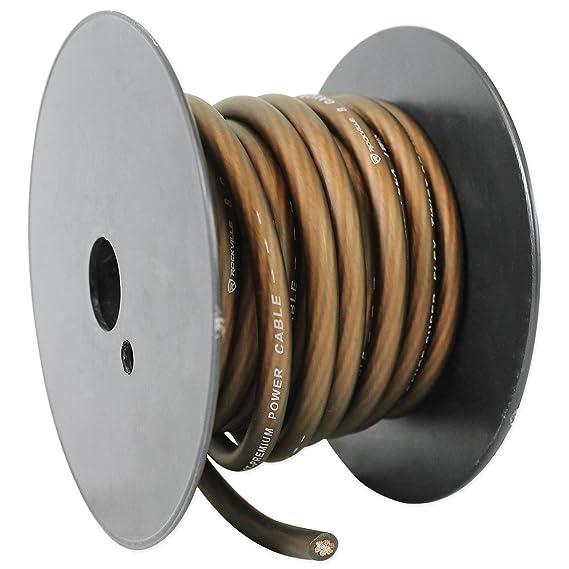 Gemütlich Rockville Audio 4 Gauge Kabel Fotos - Elektrische ...