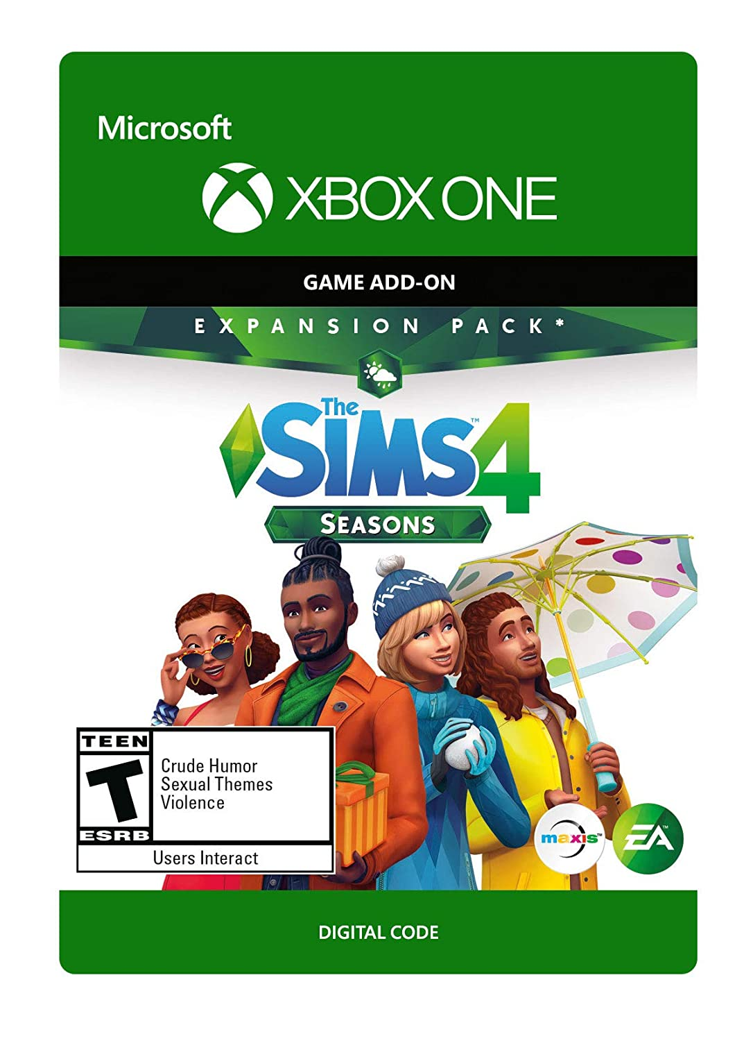 The Sims 4 Seasons - Xbox One [Digital Code]