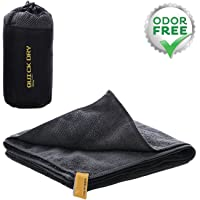 KUYOU Sport Travel Towel Microfiber Quick Dry Towel for Backpacking,Beach, Camping, Travel, Gym, Golf, Yoga, Swimming, Outwork.