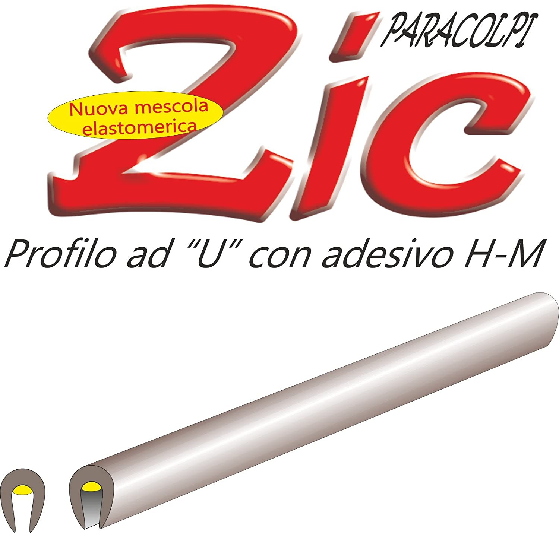 quattroerre 12128/perfiles salvaporta para coche Cromado x 850/mm-2/piezas
