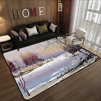 Tapis Moderne Multicolore Decoration D Appartement