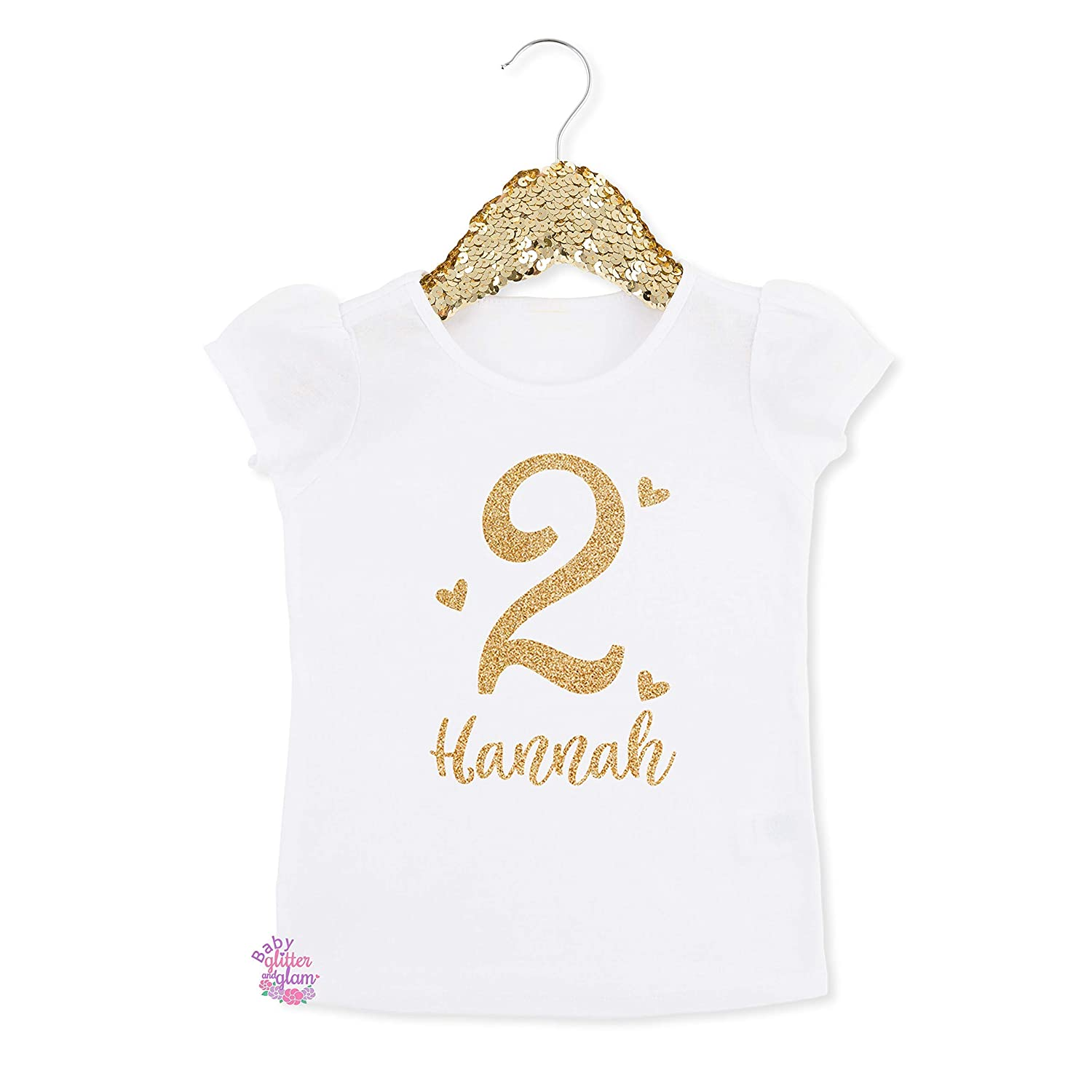 Amazon Girl 2nd Birthday Shirt Two Cute Second Personalized Gift Handmade