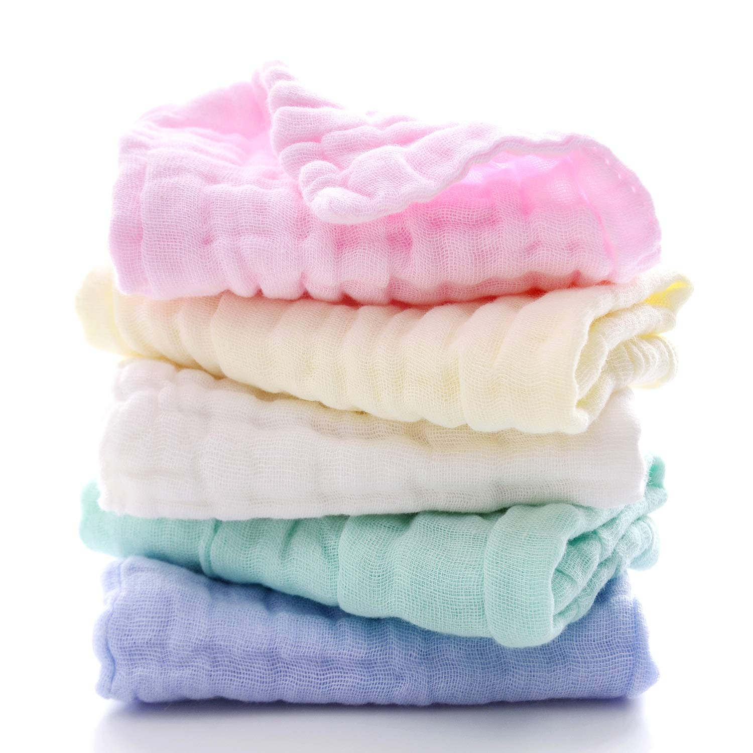 Mukin Cotton Muslin Baby Towels