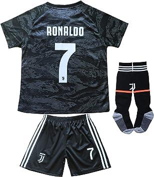 FCM 2019/2020 CR7#7 Cristiano Ronaldo - Camiseta de fútbol para niños, 2-3 Años, New 2019/2020: Amazon.es: Deportes y aire libre