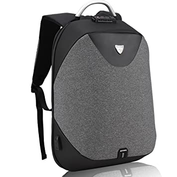 32b22fea9a Sac à Dos pour Ordinateur Portable avec USB - Arctic Hunter 15.6 Pouces  Etanche & Antivol