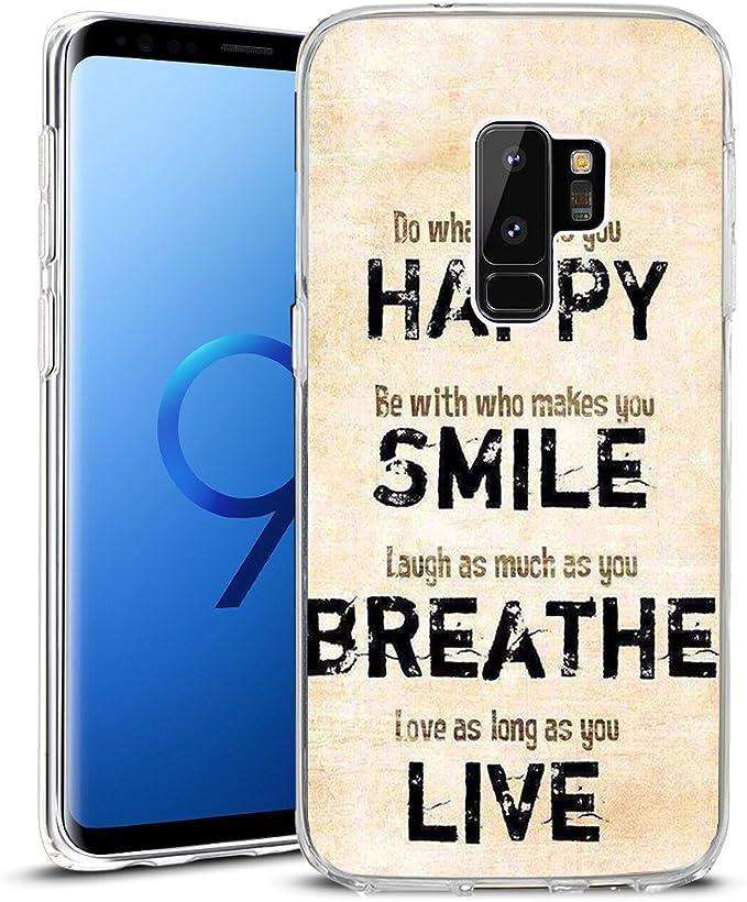 Funda para Samsung Galaxy S9 Plus 2018, de TPU, Antideslizante, impresión de Alta definición, Versos de la Biblia Faith, Sigue el Primer Paso Incluso Cuando no Ves Toda la Escalera: Amazon.es: Electrónica