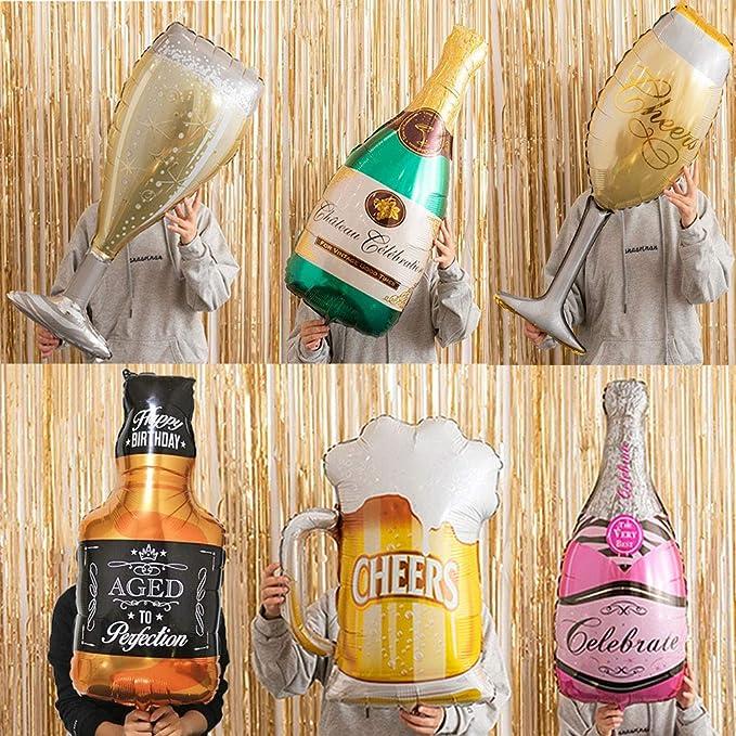 "Giant 39/"" Feuille Ballon Super Forme Bouteille de Champagne Celebration-Neuf dans emballage"