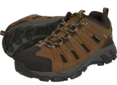 Men's Waterproof Low Oxford Hiker Boots - Brown Size 11