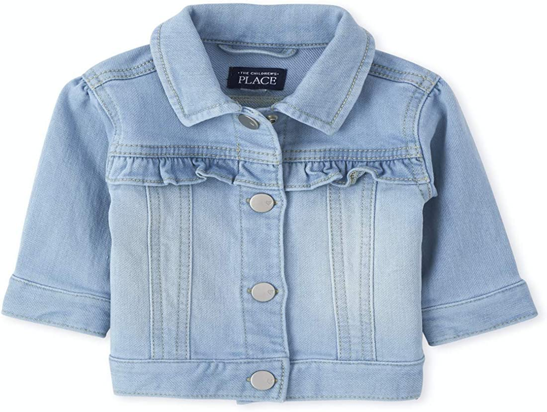 The Childrens Place Baby Girls DNM Patch Shrtal