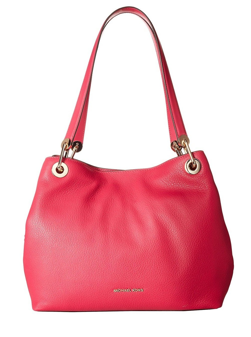 Michael Kors Womens Raven Shoulder Bag Pink (Ultra Pink)