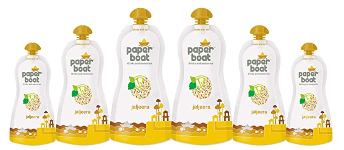 Paper Boat Jaljeera Juice, 200ml (Pack of 6)