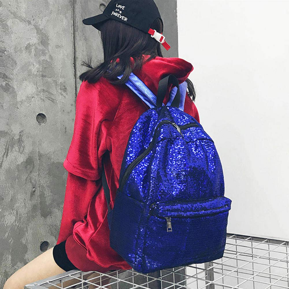 bluee CYCY Muang bag female middle school students Korean version of the campus small fresh ulzzang tide college wind backpack fashion casual wild simple Japanese street beat shoulder bag black