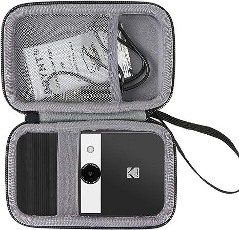 co2CREA Duro Viajar Caja Estuche Funda para Kodak Smile Cámara Digital de impresión instantánea(Caja Solo)(Negro Externo, Gris Interior): Amazon.es: Electrónica