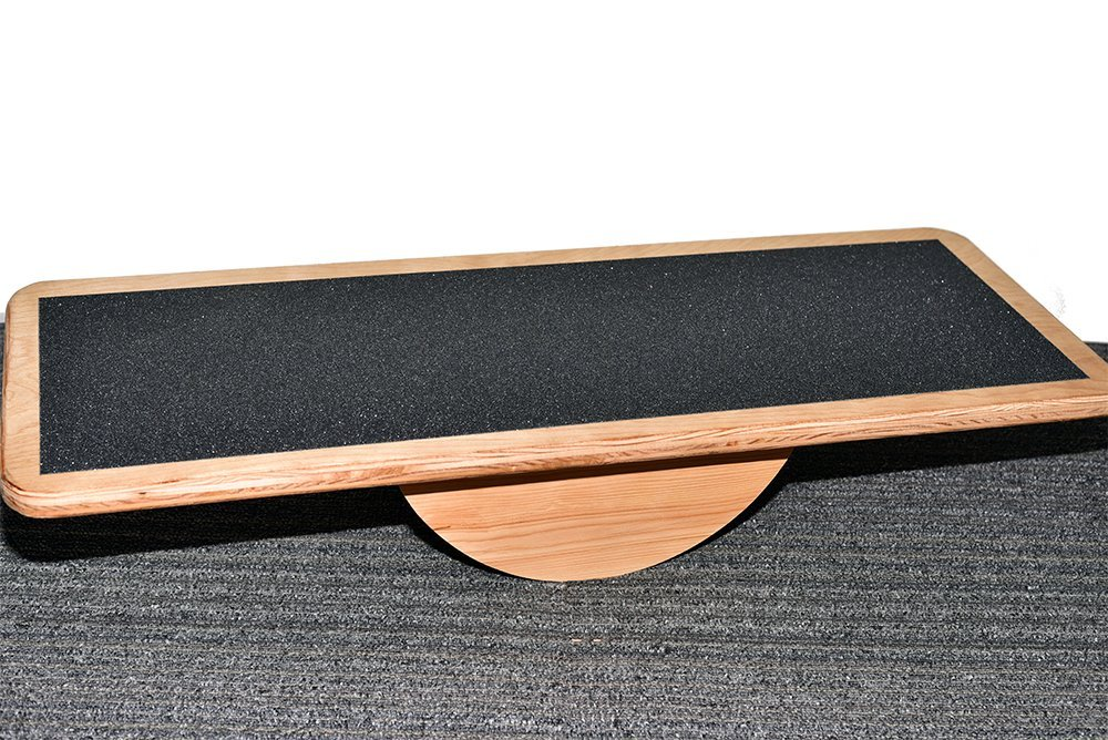 New Euro style fixed roller balance board