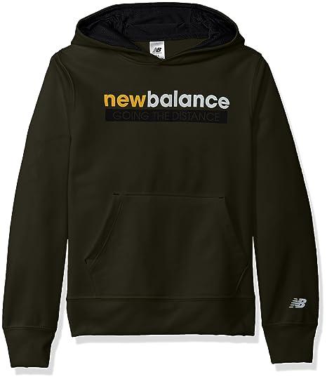 3f494e3c5d258 New Balance Boys  Little Athletic Hoodie, Military Green Black, ...