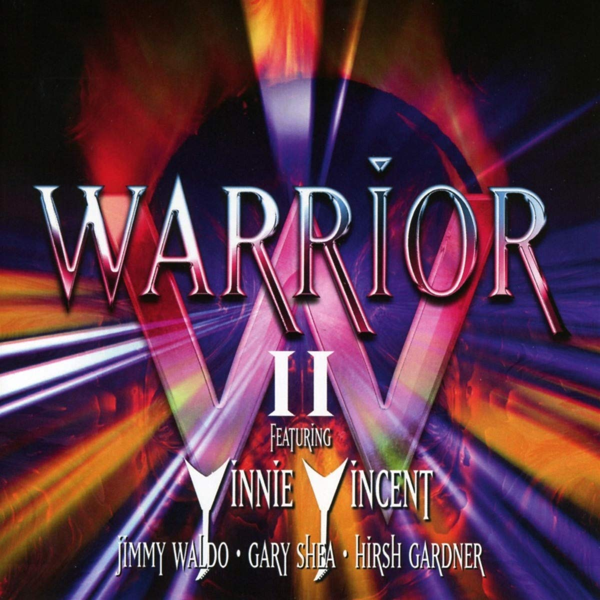 CD : WARRIOR FEATURING VINNIE VINCENT - Warrior Ii (Expanded Version, United Kingdom - Import)