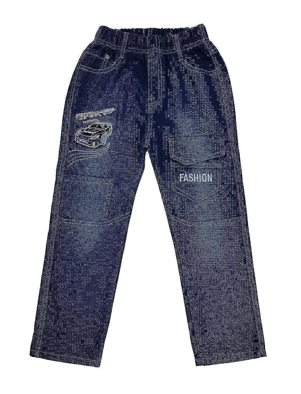 Bequeme Jeans mit rundum Gummizug, J66e
