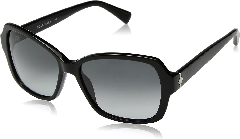 Cole Haan Women's Ch7007 Arlington Mall Rectangular Sunglasses Max 43% OFF
