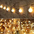 33 FT 100 LED Globe Ball String Lights, Fairy String Lights Plug in, 8 Modes with Remote, Decor for Indoor Outdoor Party Wedding Christmas Tree Garden