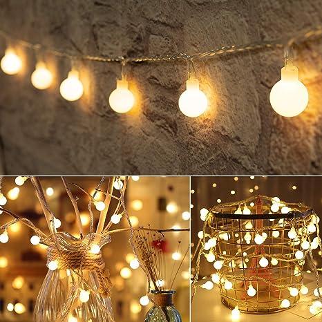 100 LED Solar Powered String Fairy Lights Outdoor Garden Wedding Party Xmas Home