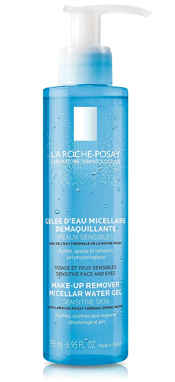 La Roche-Posay Makeup Remover Micellar Cleansing Water Gel, 6.95 Fl. Oz.