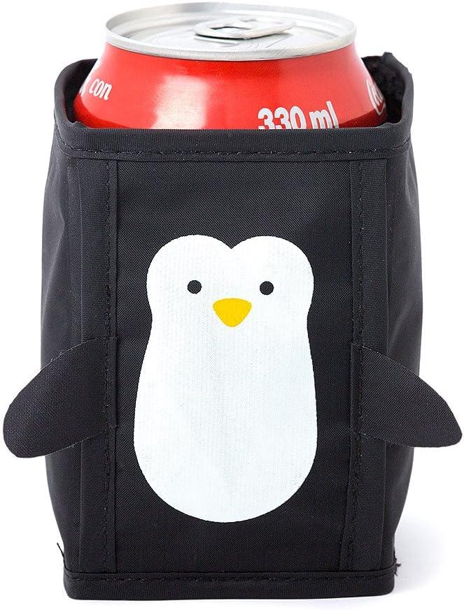 Balvi-PenguinEnfriadordelatas,EnfriadordeCerveza,EnfriadordeBebidas.Setde4Unidades.conFormadepingüino.