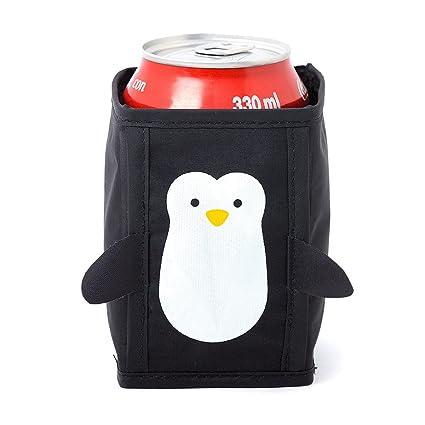 Balvi - Penguin Enfriador de latas, Enfriador de Cerveza, Enfriador de Bebidas. Set