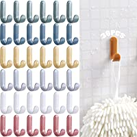 Kleurrijke zelfklevende haken 36 stuks Kapstokken Handdoekhaak Handdoekenrek badkamer muurhaak zelfklevend zelfklevende…