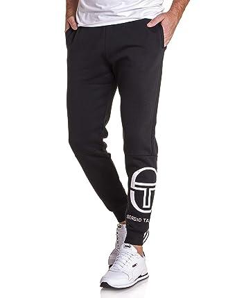 de0f2c1a8f398 Sergio Tacchini - Pantalon Jogging Slim Noir ITZAL pour Homme: Amazon.fr:  Vêtements et accessoires