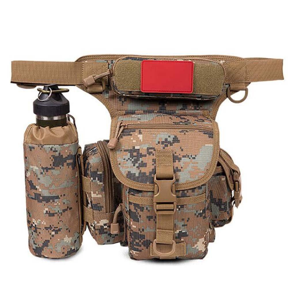 ZHANGRONG- Outdoor Beinbeutel Multifunktions-Taschen Männer Tarnungs-Freizeittasche Outdoor-Reittasche Kamera Tasche (Mehrfache Farben vorhanden)