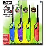 Scripto AIM 'N Flame Multi-Purpose Lighters, Pack of 4