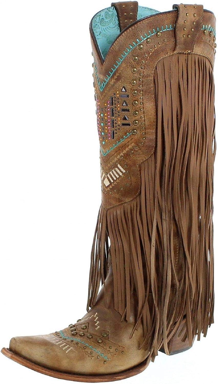 Corral Women's Aztec Long Fringe Cover