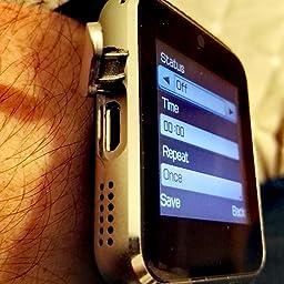 Reloj Inteligente, CulturesIn GT08 Pulsera con Pantalla Táctil ...