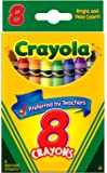 Crayola Crayons, Clear (8 Pieces)