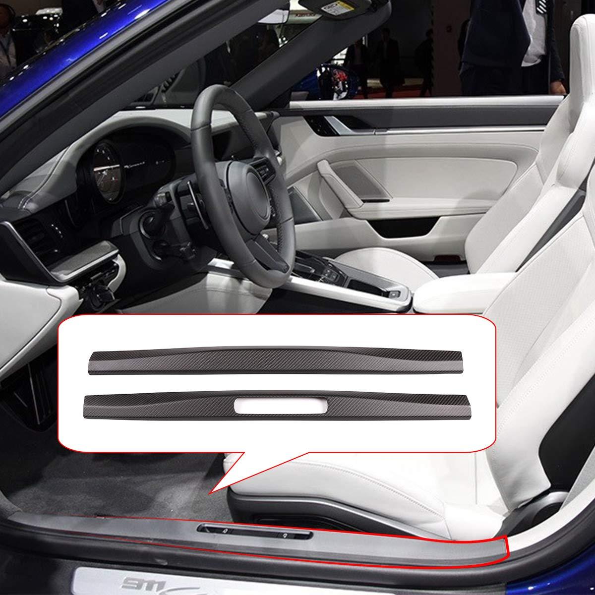 Rivestimento interno in fibra di carbonio per battitacco della portiera per 911 718 2016-2020